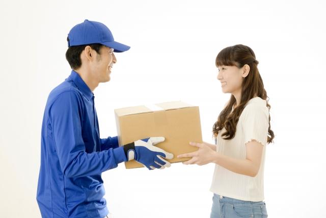 当社があなたのサロンに変わって、お客さまに商品を配送いたします。